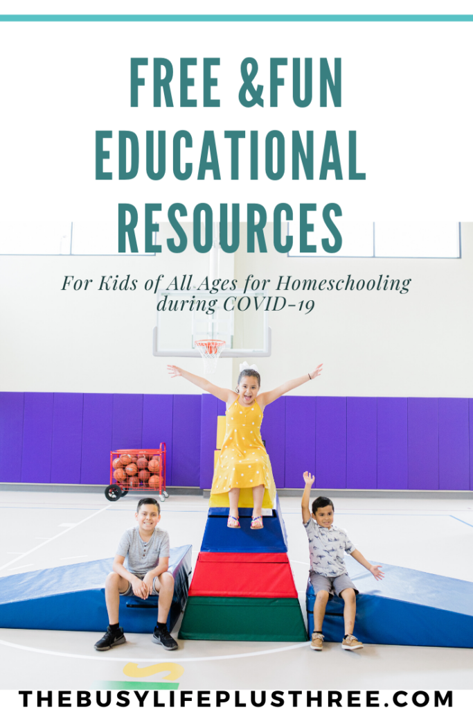 free educational resources online for homeschooling